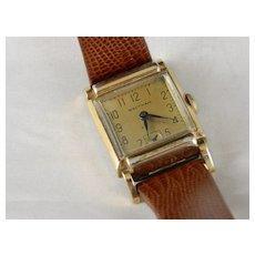 Vintage 1940 Walthum 17 J. Men's Wrist Watch