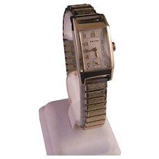 Vintage 1940 to 1950 Gruen Man's Wrist Watch