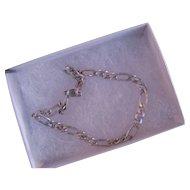 Sterling Silver Fiquaro Link Bracelet