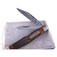1983 Commemorative Schrade 330T Etched Blade Knife