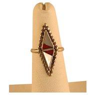 1960's Southwest Zuni style Ring