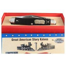 Vintage 1976 Boker Tree American Story Knife