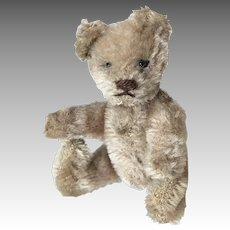 "3.5"" Fully Jointed Miniature Doll Size Vintage Teddy Bear Steiff"