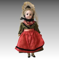 Factory Original German Bisque Antique Doll