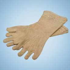 Antique Doll Gloves for French Fashion or German Bisque Doll