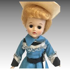 Vogue Jill Doll Vintage Original Cowgirl Outfit Tagged 1950s Vintage Hard Plastic Fashion Ginny Sister