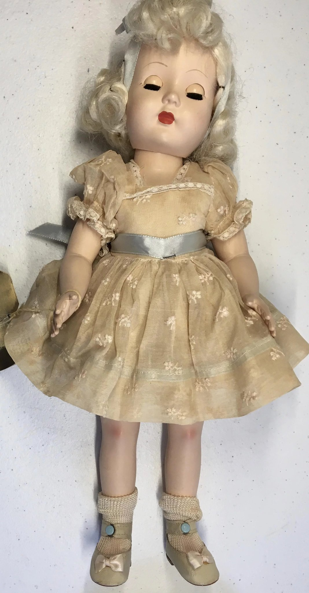 1950s Sale Effanbee Tintair Honey Hard Plastic Doll All