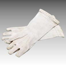 Antique Doll Fashion Gloves