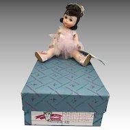 Vintage Madame Alexander Wendy Kin Ballerina Doll All Original in Box