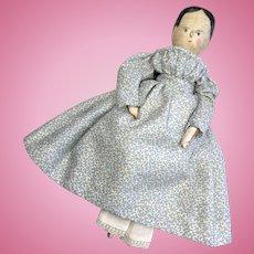 Antique German Peg Wood Doll