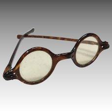 Antique Doll Faux Eyeglasses Celluloid Plastic