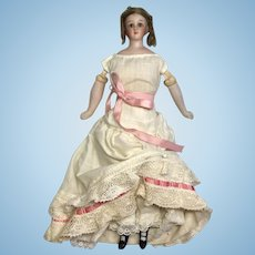 Simon Halbig Closed Mouth Little Woman 1160 Antique German Bisque Head Lady Doll