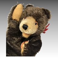 Vintage Steiff Teddy Baby Bear Hand Puppet