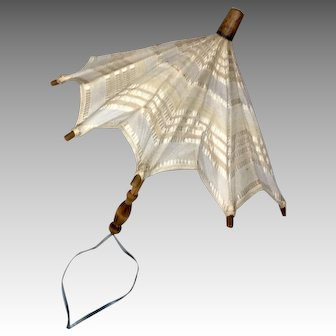 Vintage Doll Umbrella Parasol