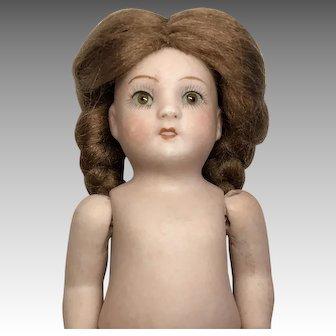 German All Bisque Glass Eye Doll ABG 83 TLC