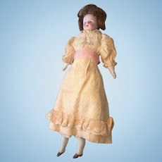German Bisque Head Antique Doll