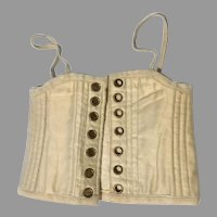 Antique Fashion Doll Corset Lady Camisole