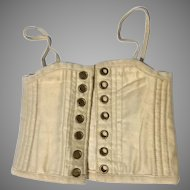 Antique Fashion Doll Corset Lady Camisole