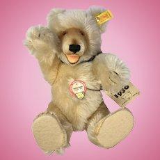 Steiff Teddy Baby Bear Vintage Mohair 1930 Replica Button Tags