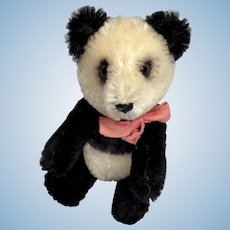 Yes No German Bear Vintage Schuco Panda