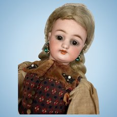 Gorgeous Simon Halbig German Bisque Doll Jointed Body All Original Antique Doll