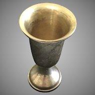 "3"" Miniature Sterling Doll Size Vase Loving Cup Trophy"