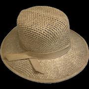 Great Vintage Doll Straw Hat