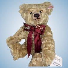 Steiff Celebration Teddy Bear 1880 to 2005 Anniversary
