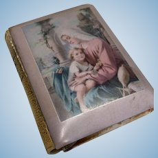 Lovely Vintage Doll Child Size Hungarian Prayer Book