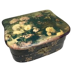 Victorian Box Jewelry Sewing Antique Doll Accessories
