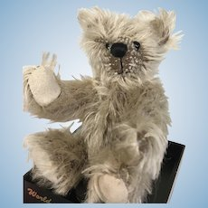 Tiny Artist Miniature Bear in Display Box World of Miniature Bears for Doll or Dollhouse