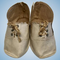 Antique German Doll Shoes for Bisque Head