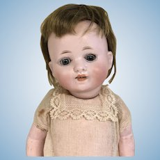 Antique German Bisque Character Baby Doll