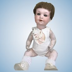 Antique German Bisque Head Character AM 971 Baby Doll