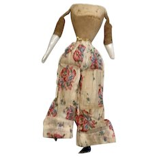 Antique China Head Doll Cloth Body