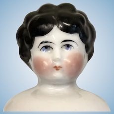 German Antique China Doll Head