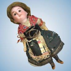 Antique DEP German All Original Bisque AM 1894 Doll