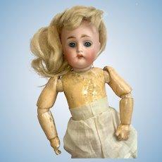 """Just Darling 8"""" Kestner 155 Bisque Head Antique Doll"""