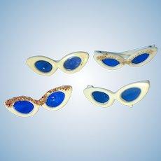 4 Vintage Barbie Sunglasses 2 Glitter