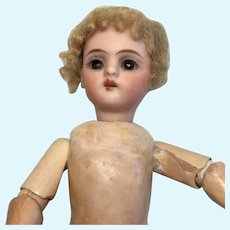 """7"""" Beautiful German Bisque Mystery Doll"""
