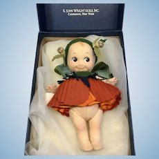 R. John Wright Kewpie Poppy Box Paperwork Limited Edition Only 250