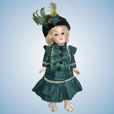 """8.5"""" Kestner 143 Bisque Head Full Jointed Body Antique Doll"""