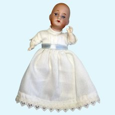 Tiny German Bisque Head Baby Doll