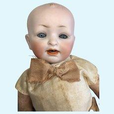 Adorable Bisque Head German Baby Doll Hertel & Schwab 151 Character