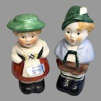 2 German Goebel Doll Figurines Miniature Pair