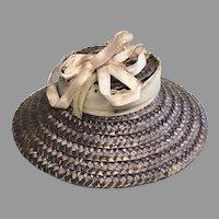 Cute Vintage Straw Doll Hat Bonnet