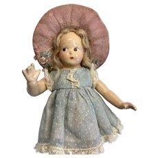 Sweet Vintage Madame Alexander Tiny Betty Doll Original Dress
