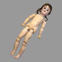 Stamped Body Heinrich Handwerck 109 Antique German Bisque Head Doll TLC