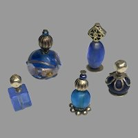 5 Super Tiny Dollhouse Doll Miniature Perfume Bottle Group