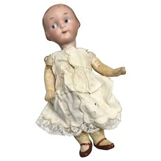 Darling German Bisque Googly Doll Campbell Kid Face A.M. 210